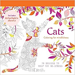 Amazon Cats 70 Designs To Help You De Stress Coloring For Mindfulness 9780600633013 Hamlyn Books