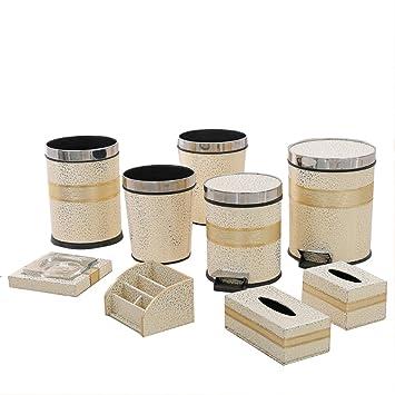 Wunderbar Home   Trash Box ZWD Haushalt Mülleimer, Badezimmer Mit Abdeckung Mülleimer  Wohnzimmer Küche Kreisförmige überdachte