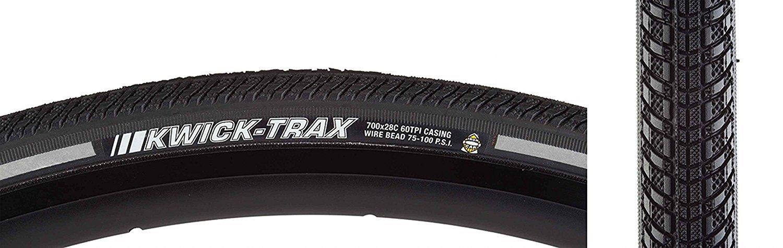 High Quality Tire K1053 700X28 Kwick Trax Iron-Cap 100Psi Bk/Reflt B07C2QQR6J