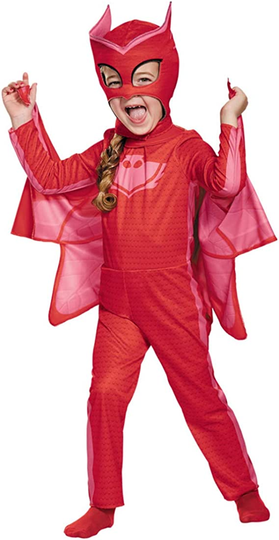 Horror-Shop PJ Masks Owlette Traje Clásico para Niños 4-6 Jahre ...