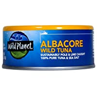Deals on 12-Pack Wild Planet Albacore Wild Tuna, Sea Salt, 5 Ounce