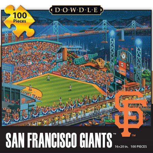 Games San Francisco Giants Puzzle (Jigsaw Puzzle - San Francisco Giants 100 Pc By Dowdle Folk Art by Dowdle Folk Art)