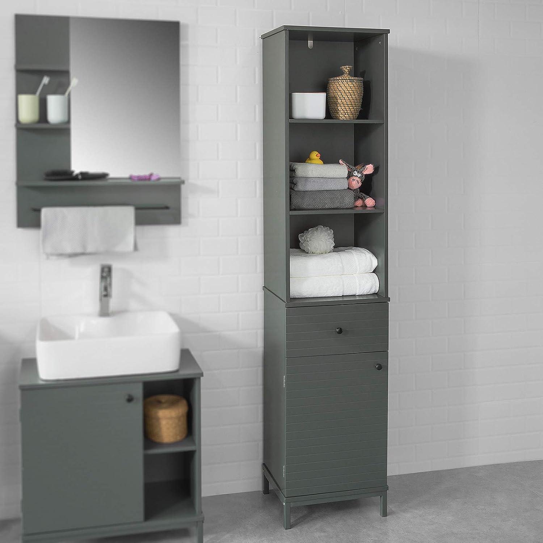 Sobuy Bzr22 Dg Badezimmer Hochschrank Badschrank Badregal