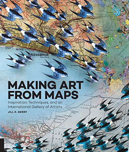 Making Art From Maps - Map Rockport