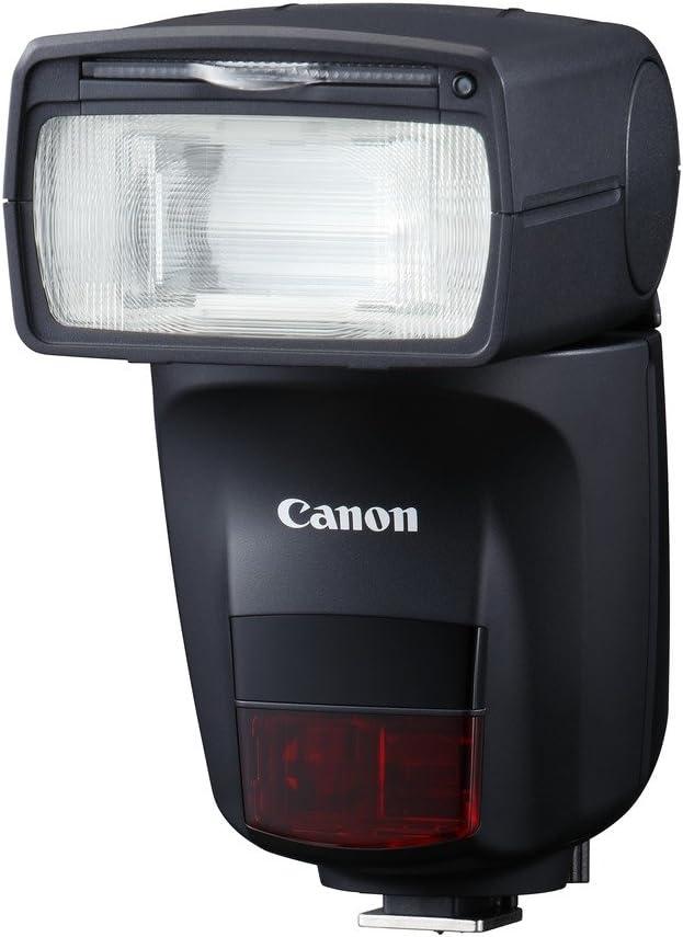 Canon Speedlite 470EX-AI - Flash automático y semiautomático (Cabezal Giratorio con Rebote motorizado, 47 m, Pantalla LCD), Color Negro