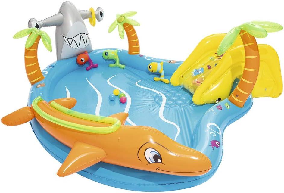 QXM Piscina de recreación submarina Piscina de recreación Piscina para niños,Blue