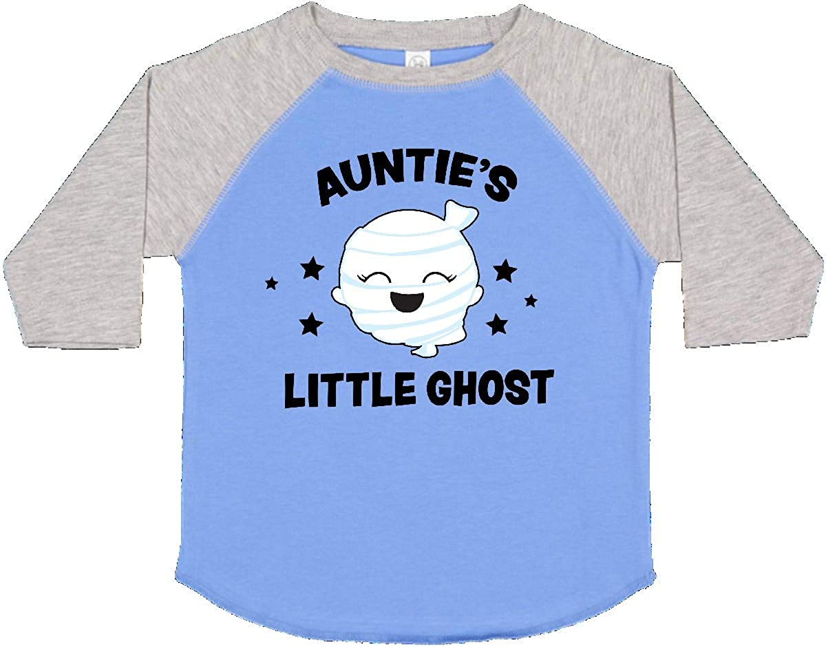 inktastic Cute Aunties Little Ghost with Stars Toddler T-Shirt