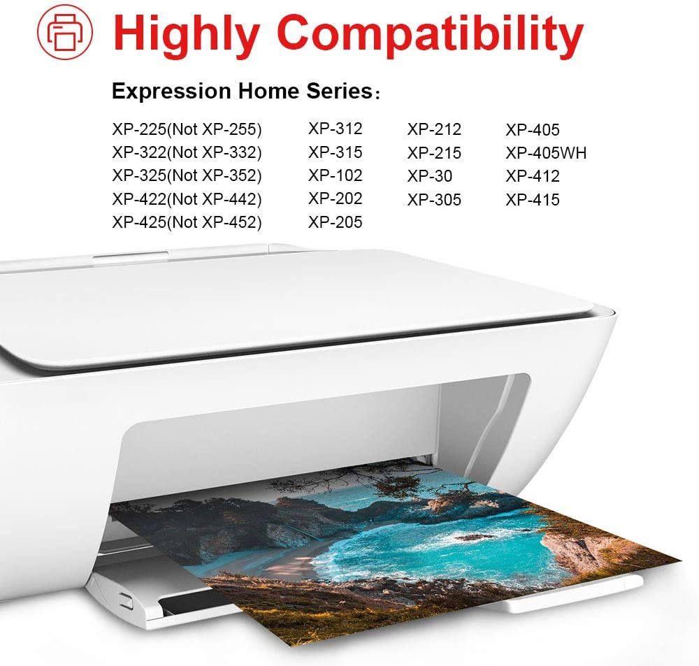 Uniwork 18XL Cartuchos de tinta Reemplazo para Epson 18 18 XL ...