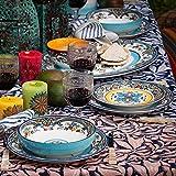 Euro Ceramica Zanzibar Collection Pasta Bowls, Set
