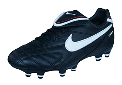 Nike Tiempo Mystic III FG Womens Leather Football Boots Cleats-Black-3 1df3239c9b