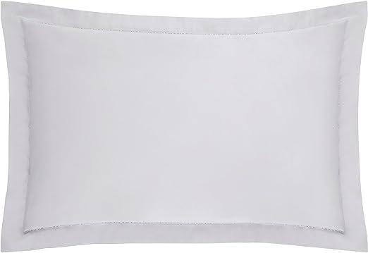 Sheridan - Funda de Almohada de satén de algodón de 1000 Hilos, Azul Claro, 20 x 30 Inch: Amazon.es: Hogar