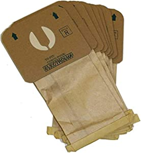 807C Vac for Electrolux Style Type R Vacuum Bags Designed to Fit Electrolux and Aerus Canisters R, Epic Canister Epic 8000, Encore, 9000 Aerus Lux (24 Bags)