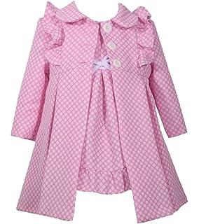 92,98 Traumhaftes Set ~ Mantel Kleid ~festlich~ Bonnie Jean~Mädchen Gr