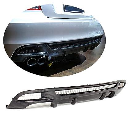 Outside Rear Bumper Lip Diffuser Carbon Fiber For BMW 1 Series E82 M Tech M Spor