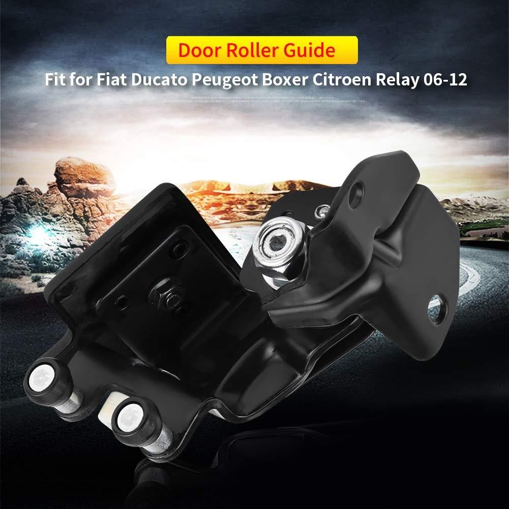 Broco Autom/óvil desplaz/ándose Gu/ía de rodillos for puerta Izquierda Medio for Fiat Ducato Citroen Peugeot Boxer rel/é 06-12