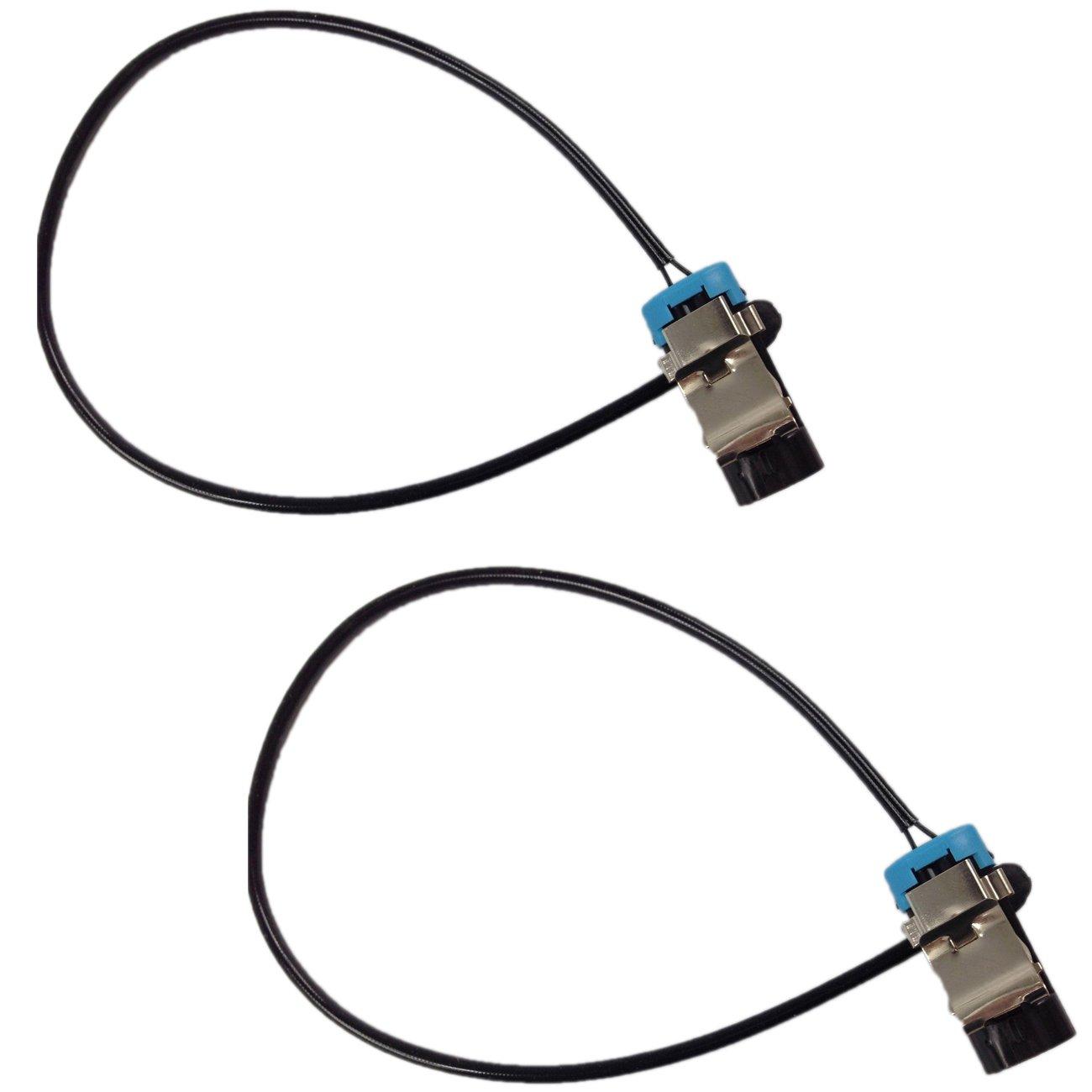 Bapmic 18026765 Front Brake Pad Wear Sensor Kit for Cadillac (Pack of 2)