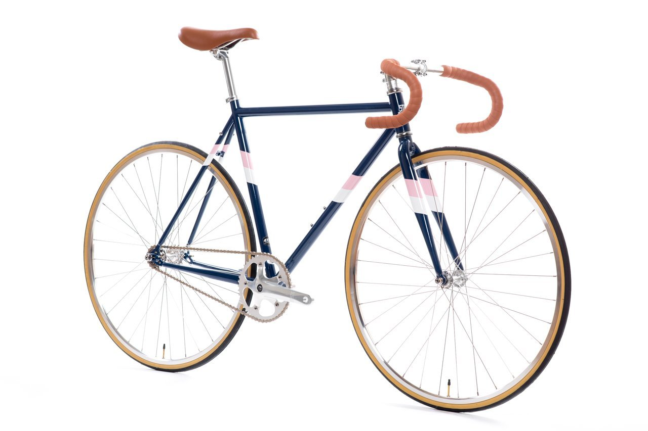 State Bicycle Co。 – 4130 Core Line – 固定ギア/ Fixieシングルスピードバイク、軽量Chromolyフレーム、フリップフロップハブ、withドロップバー B07CNR15XP 52cm|Rutherford 3 Rutherford 3 52cm
