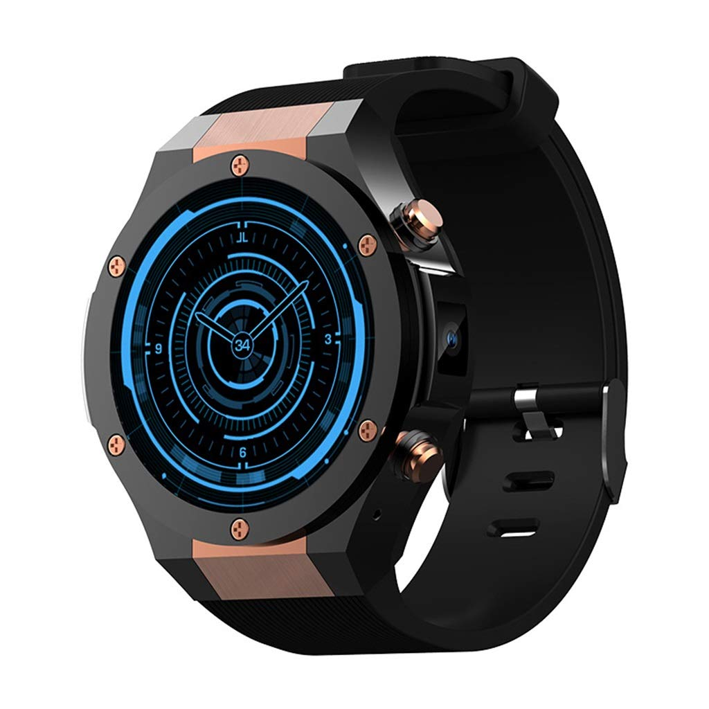 フィットネストラッカースマートスポーツブレスレット心拍数GPS測位WIFIステップカウンタスマートな時計は、AndroidとIOSに対応 - 3色をご利用いただけます B07NRQSWMS A