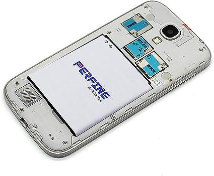 Perfine Galaxy S4 Batería B600BC 2600mAh con NFC para Teléfono móvil Galaxy S4 i9500 I9505 L720 I545 I337 M919 Batería de Repuesto [Garantía Gratuita ...