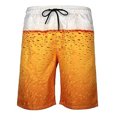 Shorts Imprimé Short Homme De Corde Bain Bière Bermuda 3d Zezkt T1J3KculF