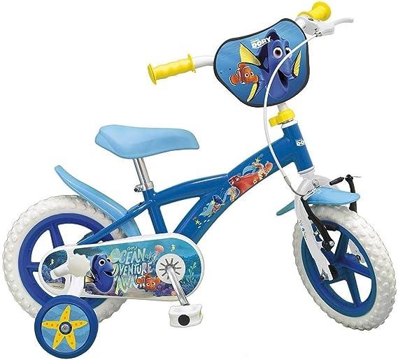 Bicicleta Buscando a Dory 12 Sillita: Amazon.es: Juguetes y juegos