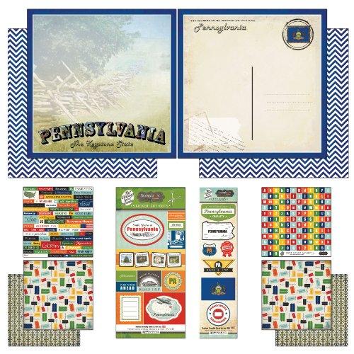 Usa Scrapbook Kit - 3