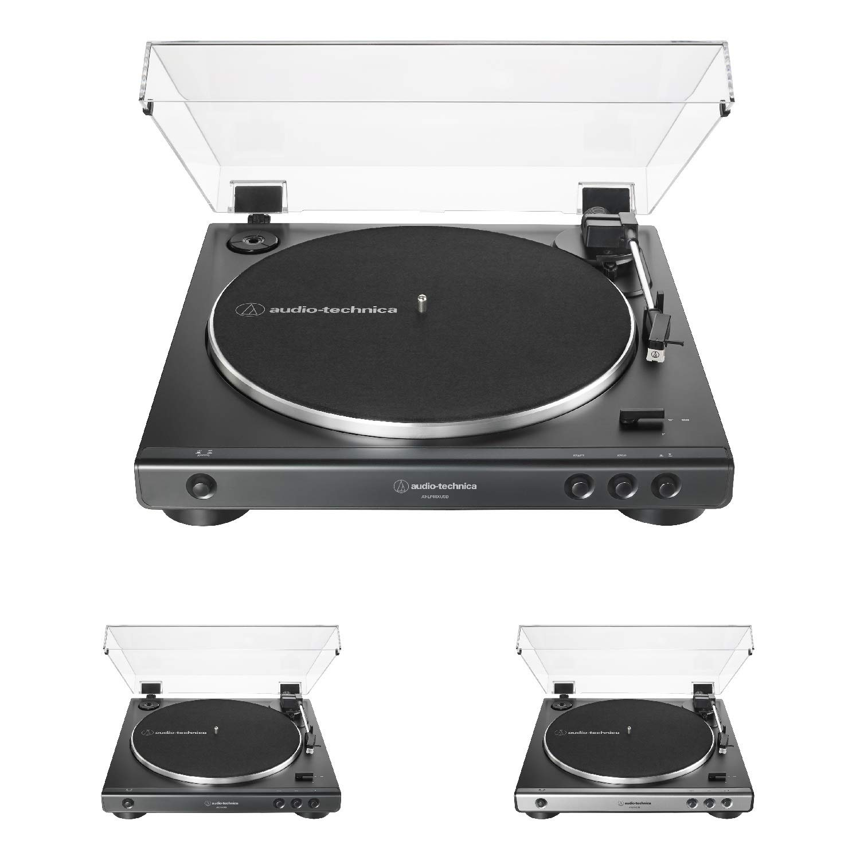 Audio-Technica AT-LP60X - Tocadiscos estéreo con transmisión de ...
