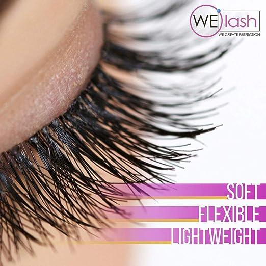 7b0b6a1b4d6 Amazon.com : Best Professional R Curl Individual Eyelash Extensions Black  Color - Flat Soft Lash Extensions Natural 20 Mixed 7-15 mm Tray by WElash ( Mix R ...