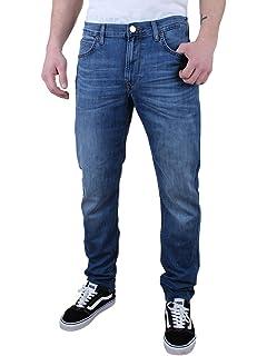 Lee Herren Chino Hose Slim Fit Grau Rinse Stripe kaufen