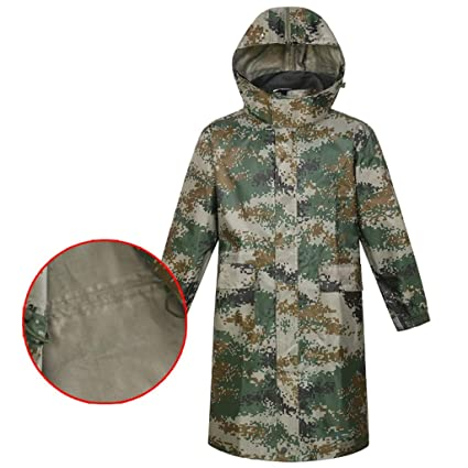 enjoy complimentary shipping popular style online shop Amazon.com: Camouflage Rain Suit Waterproof Rain Jacket ...