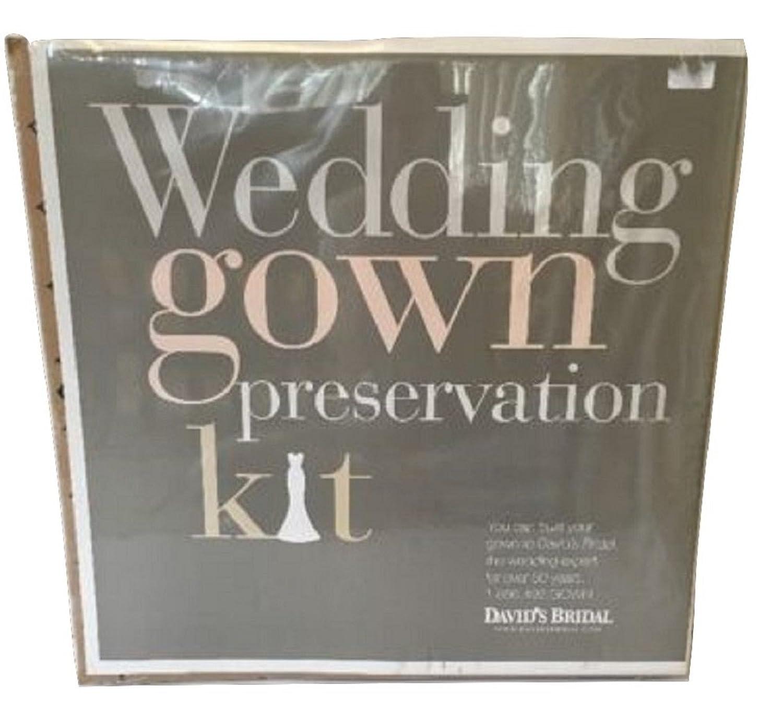 Amazon.com: Wedding Gown Preservation Kit David\'s Bridal: Clothing