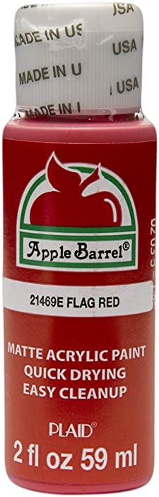The Best Apple Barrel Flag Red