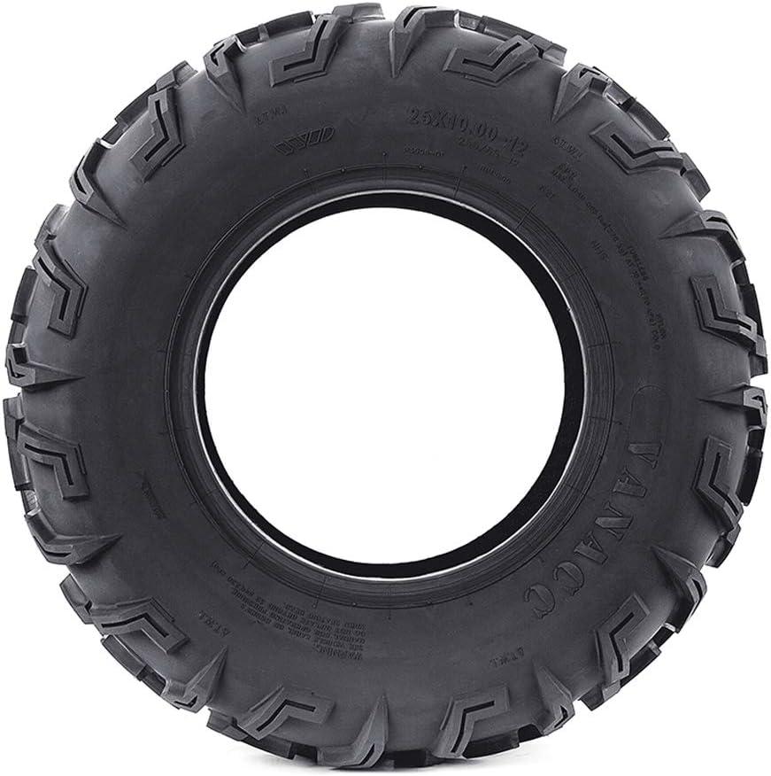 25x10-12 ATV//UTV Tires Set of 2 All-Terrain Tire 6 PR