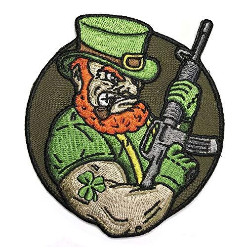 echaun AR-15 Embroidered Patriotic Irish Tactical Morale Patch ()