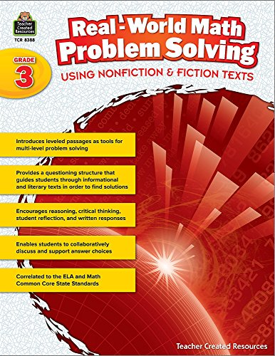 Real-World Math Problem Solving: Using Nonfiction & Fiction Texts Grade 3