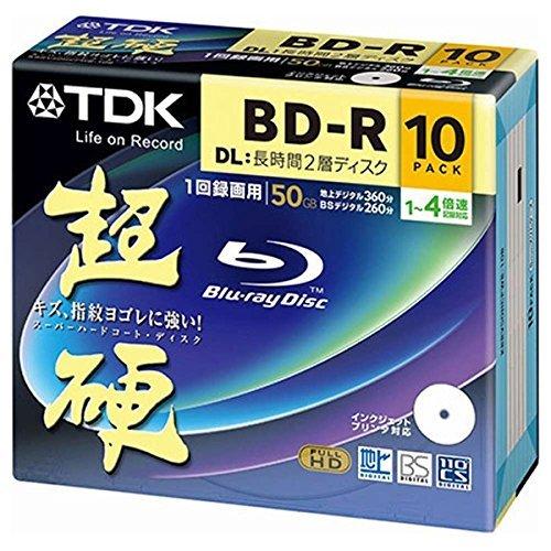 TDK KBRV50HCPWB-10B 超硬 BD-R DL 長時間2層ディスク B00QEZD8RM