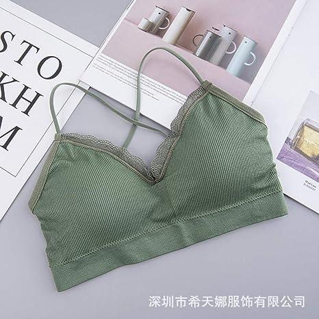 Tianyifeng Nueva Belleza Espalda Encaje Envuelto Pecho niña ...
