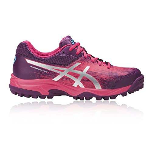 8efded719e70 ASICS Gel-Lethal Field 3 GS Junior Hockey Shoes Pink  Amazon.co.uk ...