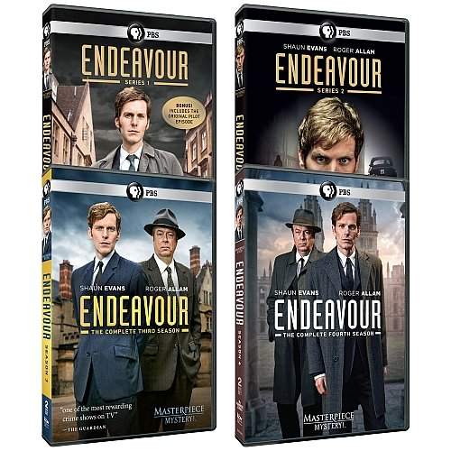 Masterpiece Mystery   Endeavour Pilot   Series 1 4 Dvd Collection