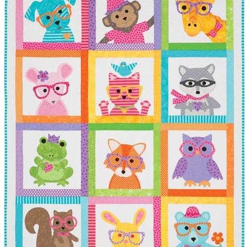 Sew Cute Critters Pattern Book - Critter Pattern