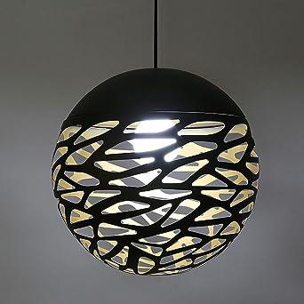 Pendentif Chambre Suspendu Noire Plafond Lampe Luminaire E27x40wx1 kXuZPTOi