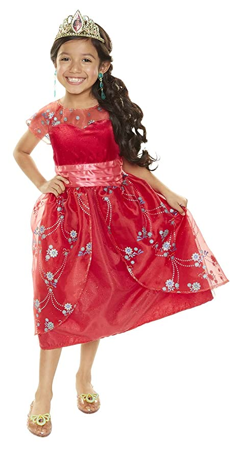 Amazon.com: Elena Of Avalor Red Royal Ball Gown: Toys & Games
