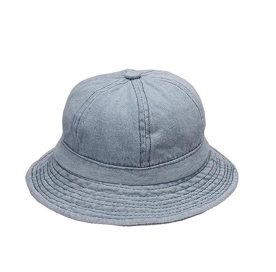 Image Unavailable. Image not available for. Color  Jtc Women Men Jean  Fabric Bucket Hats Light blue c69c6dede69