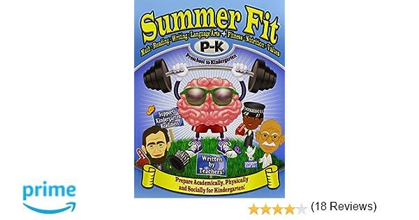 Summer Fit Preschool to Kindergarten: Math, Reading, Writing ...