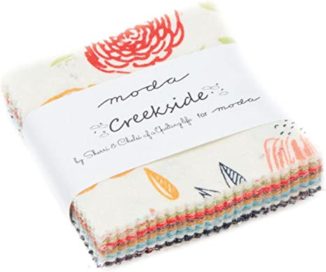 Creekside Mini Charm Pack por Sherri & Chelsi; 42 – 2,5 ...