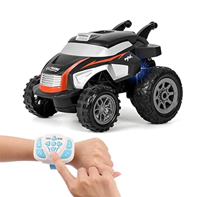 Tinffy New Kids Children 2.4G Electric Toy Car Remote Control Dump Truck Toys Set Toy RC Vehicles: Home & Kitchen