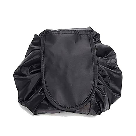 5b8535d5b44d House of Quirk Lazy Cosmetic Bag, Black
