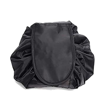 206092c65419 House of Quirk Lazy Cosmetic Bag, Black