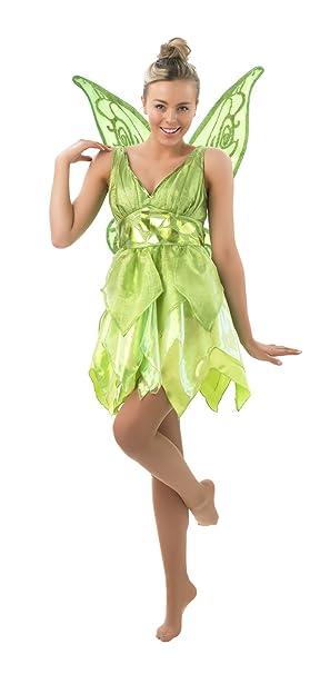 Disney Damen Kostum Fee Tinkerbell Als Elfe Karneval Fasching Gr S