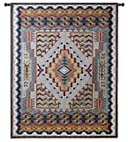 Fine Art Tapestries ''Southwest TURQUOISE'' Wall Tapestry, Small
